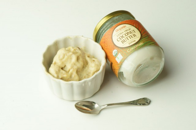 ココナッツバターアイス