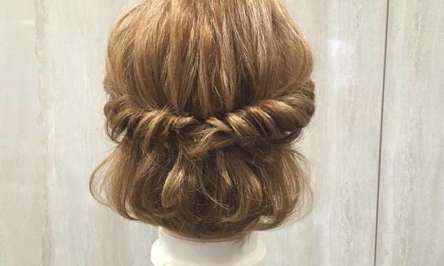 ボブ・ミディアムの子必見☆ 短めヘアでもOKな自分でできる簡単