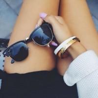 自分に最も似合うサングラス選び