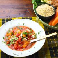 栄養たっぷり地中海風スープのレシピ