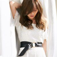 白石麻衣さんに学ぶ女っぽ夏モテコーデ
