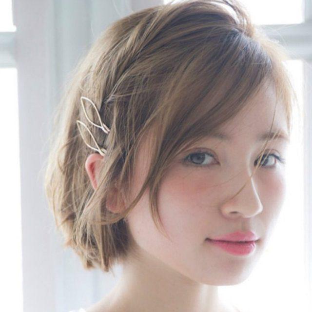 髪型アレンジ ショート