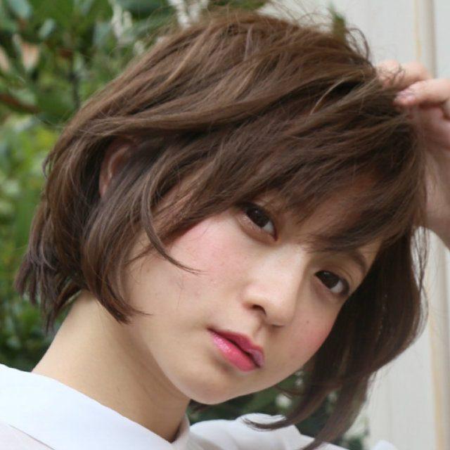 髪型 ショート 女子