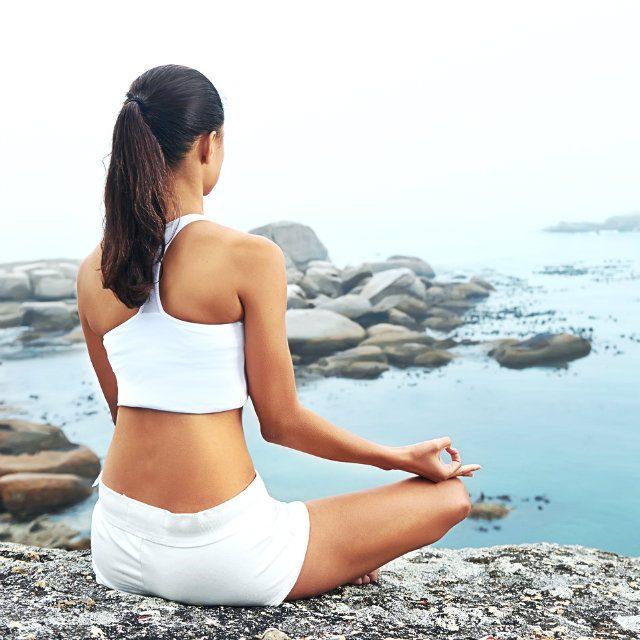 瞑想は、どこでもできます