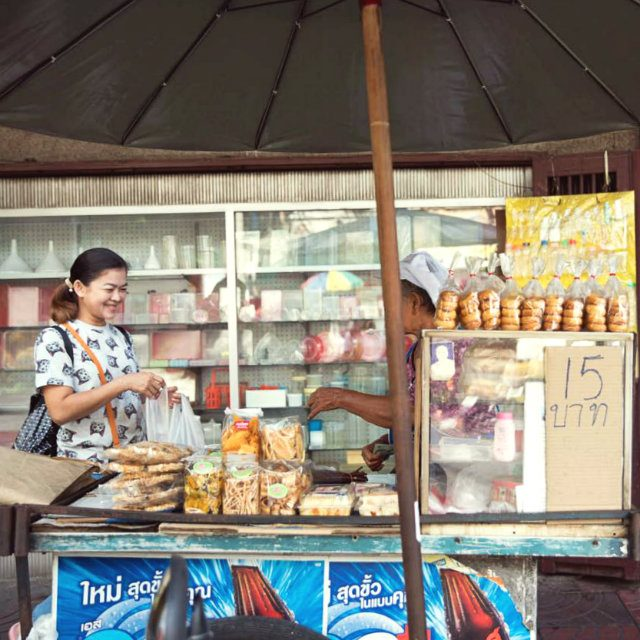 タイの日常に触れる大人気ウォーキングツアー1