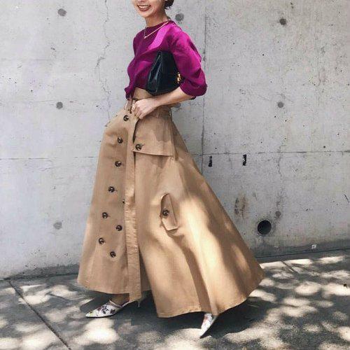 女っぽさを極める2017秋冬スカートコーデのコツ