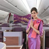 タイ国際航空ビジネスクラスで快適な空旅