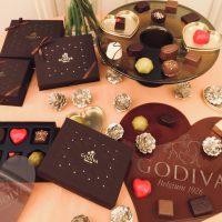 2018バレンタイン限定godivaのチョコレート