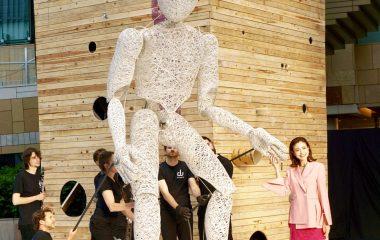 片瀬那奈さんが語る六本木アートナイト-2018の魅力