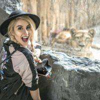 旅先の散歩がてら動物園に出かけてみる