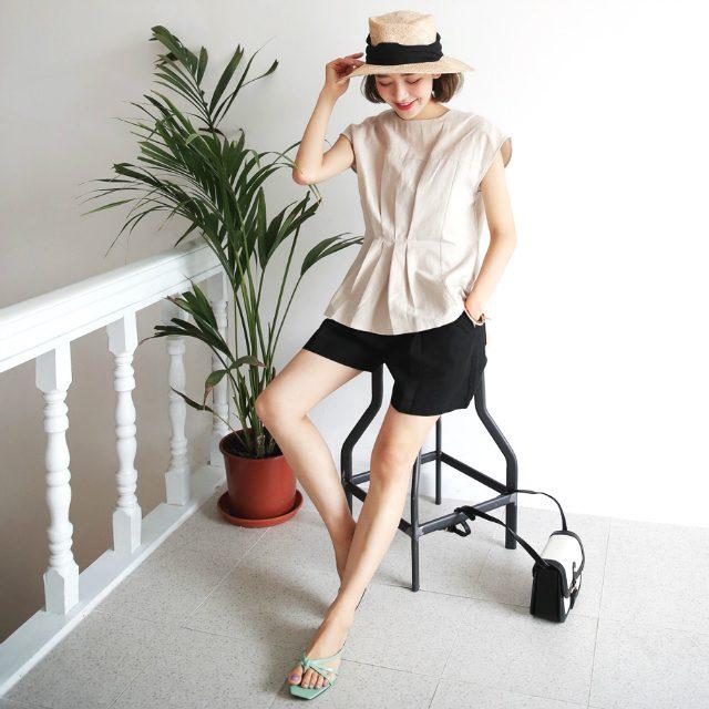 大人女子のためのショートパンツの着こなしテク