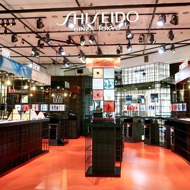 shiseido新メイクアップが伊勢丹新宿店で先行販売