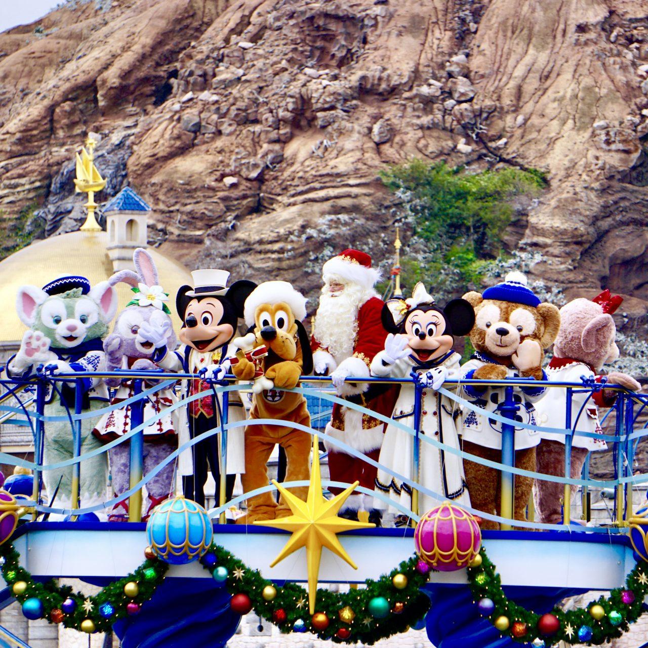 東京ディズニーシー2018ディズニー・クリスマス