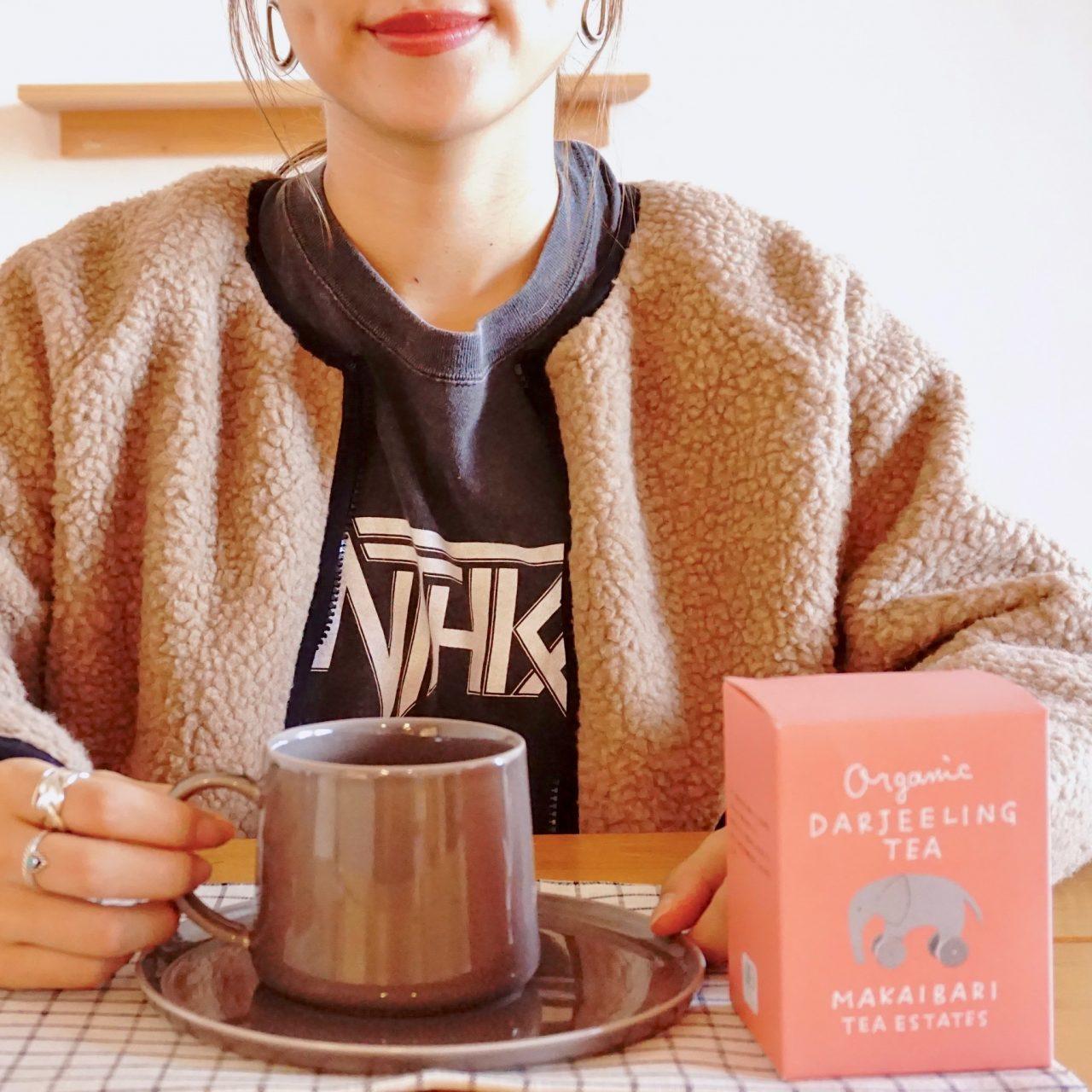 とっておきマグと紅茶で贅沢ティータイム