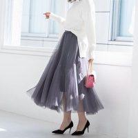 タイプ別✓旬顔スカートをお洒落に着こなすコツ