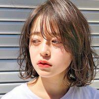 レングス別2019秋注目の小顔ヘアの作り方